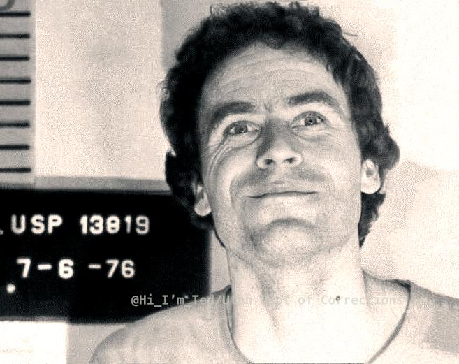 Bundy rare photos mugshots 1976 Utah