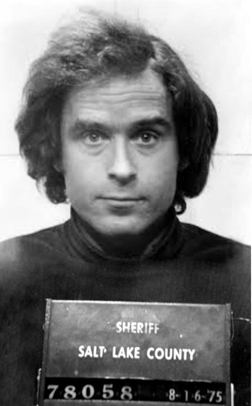 Ted Bundy mugshot 1975 Utah