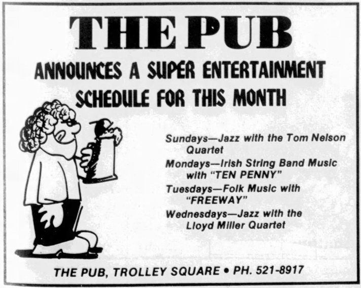 The Pub Trolley Square Salt Lake City Utah Ted Bundy