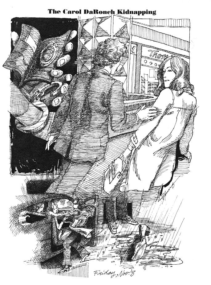 Carol DaRonch kidnapping illustration Utah Holiday Magazine