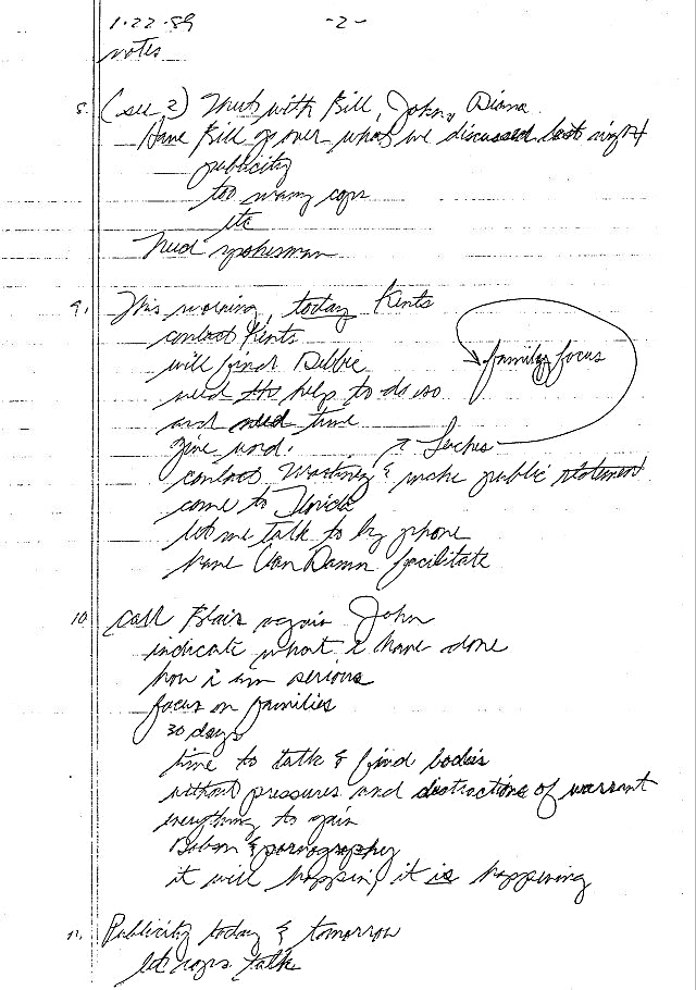 Bundy final notes Kent Florida State Prison confession 1989