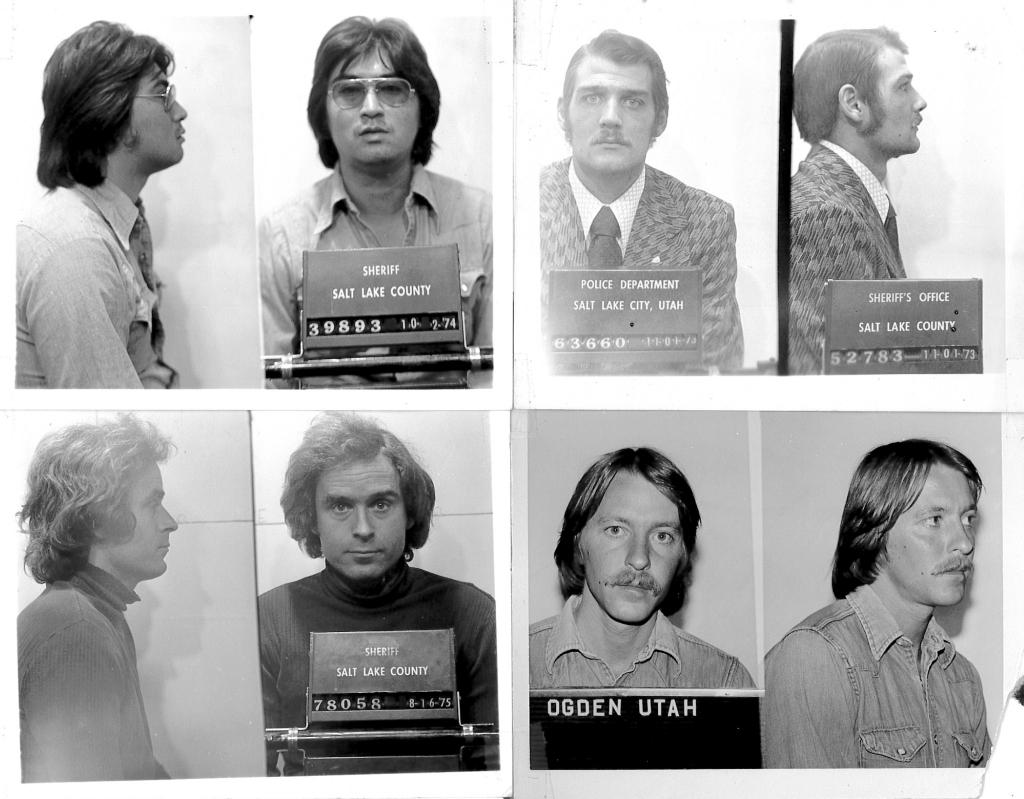 Ted Bundy mugshots Utah
