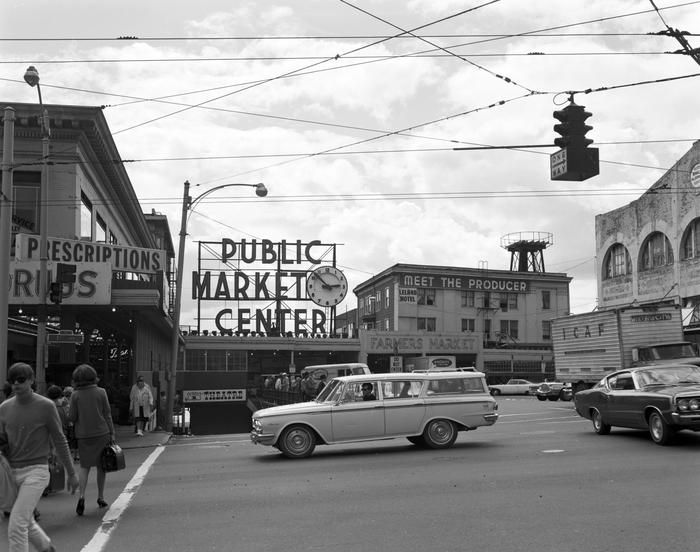 Seattle Pike Place Market 1968