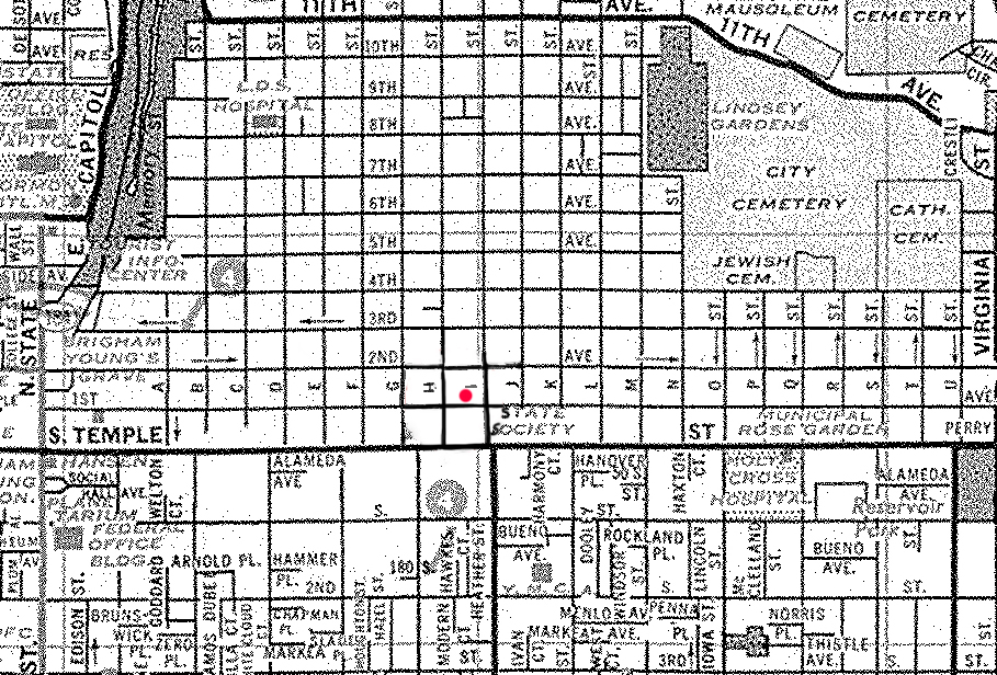 Ted Bundy Avenues Salt Lake City Utah