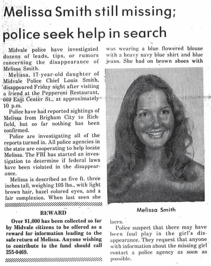 Melissa Smith Ted Bundy